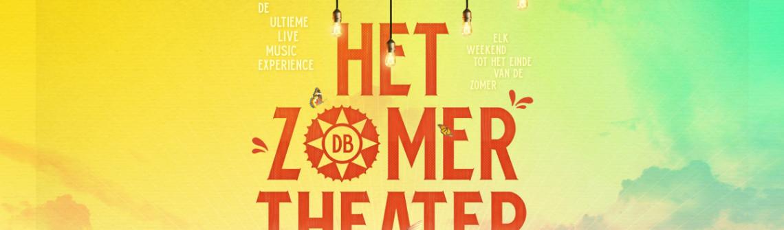 'Het Zomertheater' in Den Bosch: sfeervol tafelen tijdens intieme concerten!